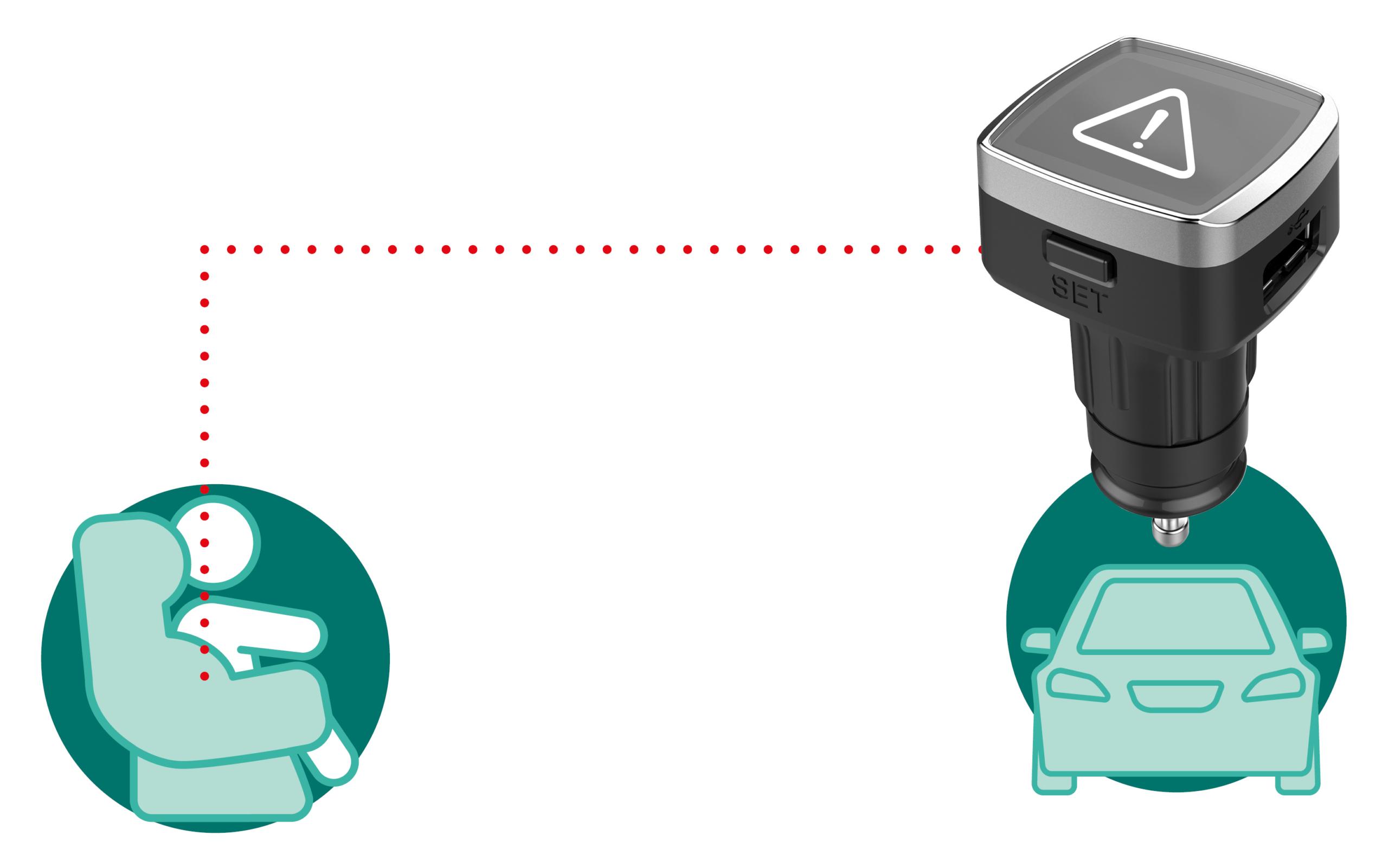 Phonocar Baby Seat Alarm 2