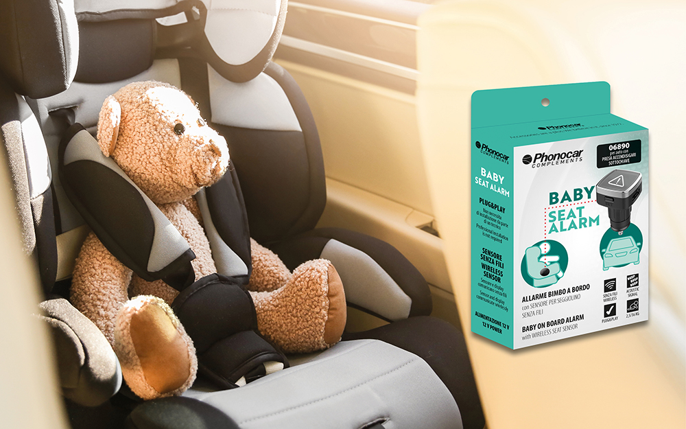 Phonocar Baby Seat Alarm.