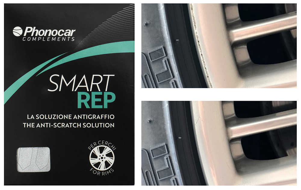 Phonocar SMARTREP Bustina + prima e dopo