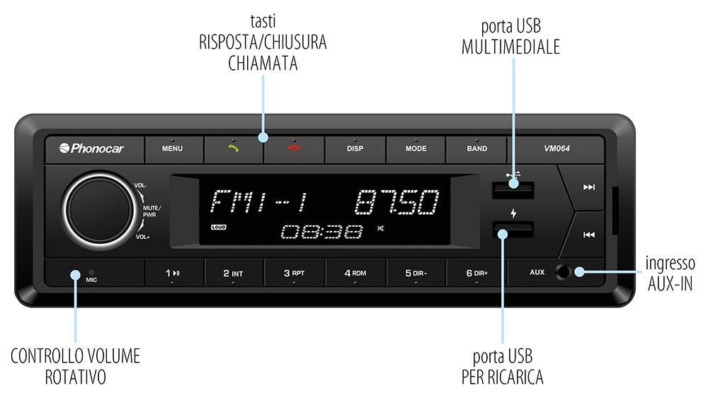 Phonocar VM064 normale